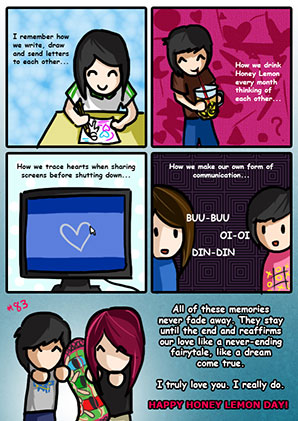 March 2015 (#8) - Honey Lemon Day Comics by RailKill