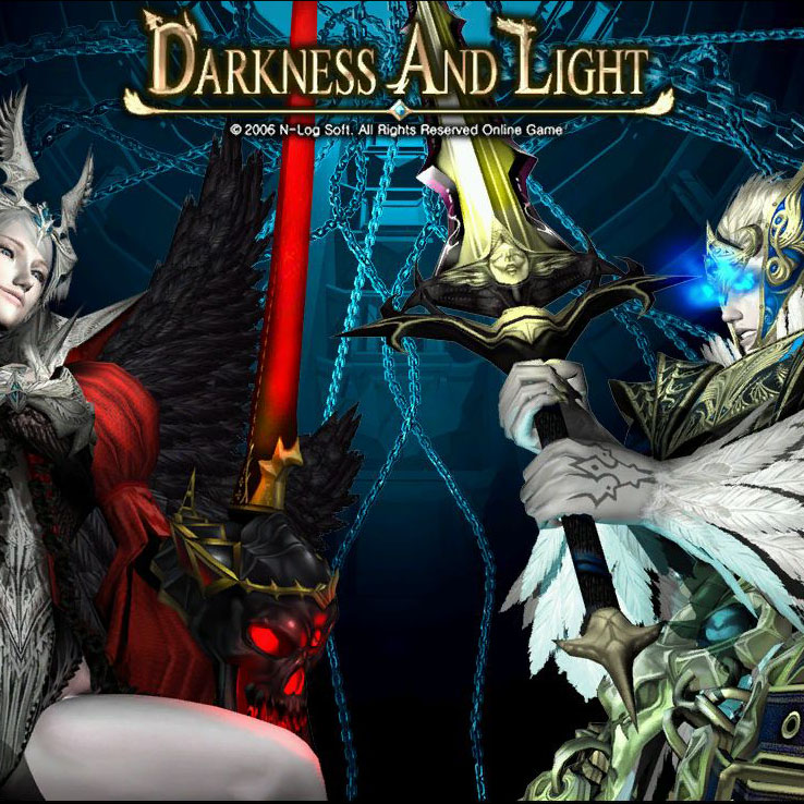 Darkness and Light login image, extracted thanks to my Darkness and Light game file unpacker.